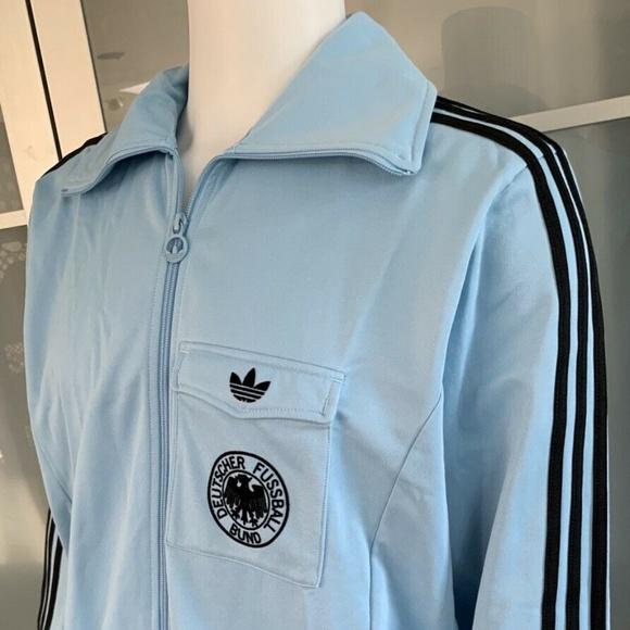 Adidas Deutschland Dfb Fussball Trainer Jacket Nwt